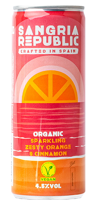 Sparkling Zesty Orange & Cinnamon